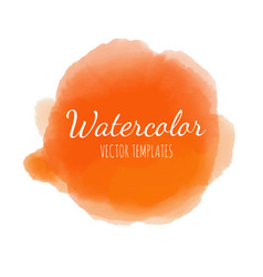 set of watercolor background 6 vector image