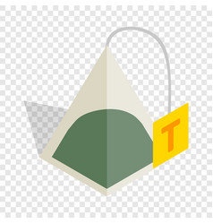 Teabag isometric icon vector