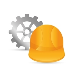 Under construction tools design vector