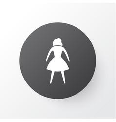 Woman icon symbol premium quality isolated female vector