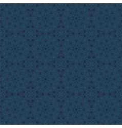 Dark blue seamless pattern in oriental style vector image