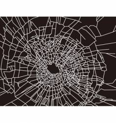 Shattered glass texture vector