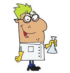 Hispanic scientist vector