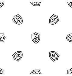 light shield pattern seamless vector image