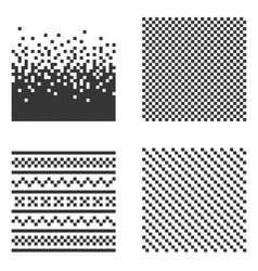 Pixel pattern set vector