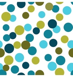 seamless pattern from repeating circles vector image