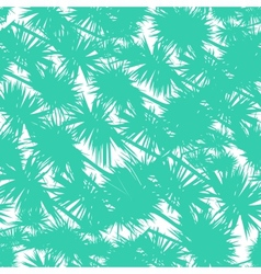 Seamless pattern with stylized palm leaves vector