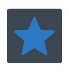 Star icon from Award Buttons OverColor Set vector image
