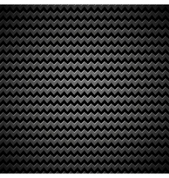 Background with Zigzag Pattern and Metal Texture vector image