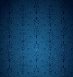 Blue little background vector image vector image