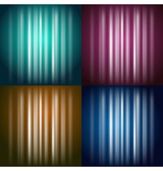 Colored Glow vector image