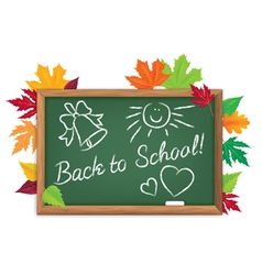 Board back to school vector