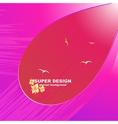 bright abstract summer background vector image