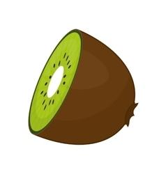 Kiwi icon Organic and Healthy food design vector