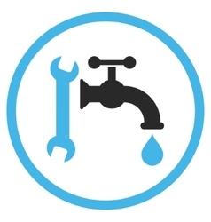 Plumbing Flat Icon vector