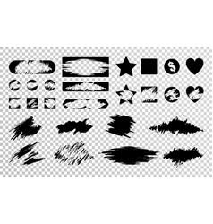 scratch card set vector image