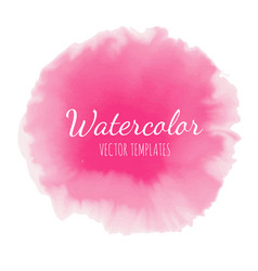set of watercolor background 11 vector image