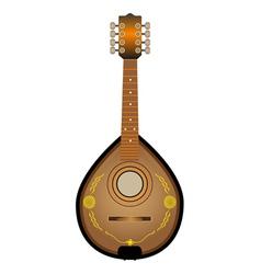 Stringed instrument Mandalina vector