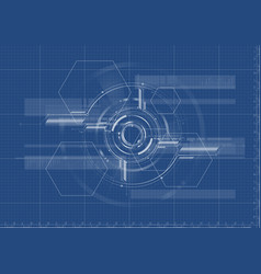 technological abstract digital technical vector image