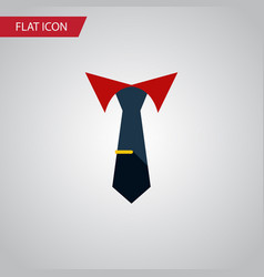 Isolated collar flat icon tailoring vector