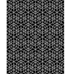 Futuristic continuous contrast pattern motif vector