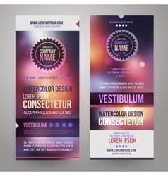 Corporate identity templates design vector