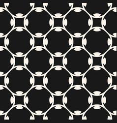 seamless geometric pattern in arabian style vector image