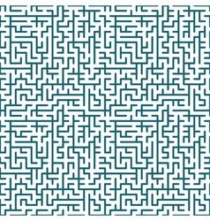 Seamless maze pattern vector image