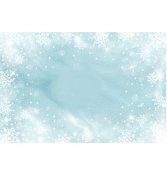 snow frost effect abstract bright white shimmer vector image