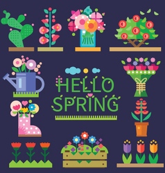 Spring mood vector image
