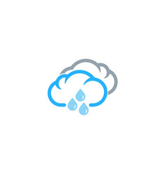weather and season logo icon design vector image