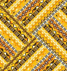 Geometric tribal pattern vector image vector image