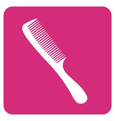 Objects collection Comb vector image