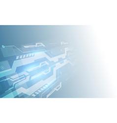 abstract digital hi tech technology innovation vector image