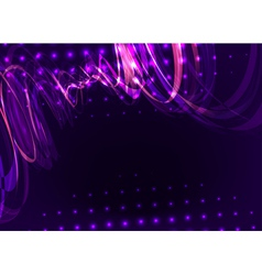 Abstract spiral purple vector