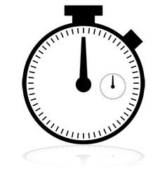 Chronometer icon vector