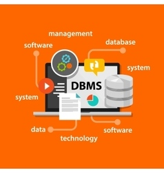 Dbms database management system computer data vector
