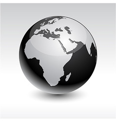 Earth - Africa vector image