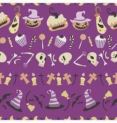 Halloween pattern 01 vector