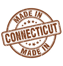 Made in connecticut vector