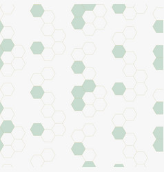 Molecule cells geometric background seamless vector