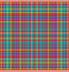 Tartan plaid pattern seamless print fabric vector
