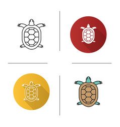 Tortoise icon vector