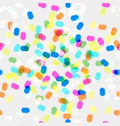 bright rainbow colors shine vector image