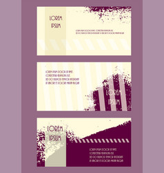 abstract brochure headpage templates flyer grunge vector image