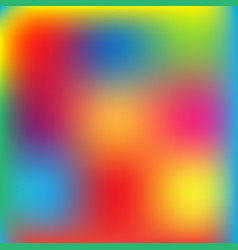 blur colorful background vector image