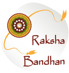 Indian festival raksha bandhan vector