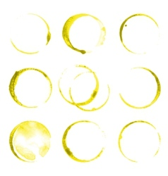 Oil stains vector image