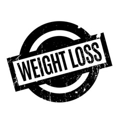 Weight loss rubber stamp vector