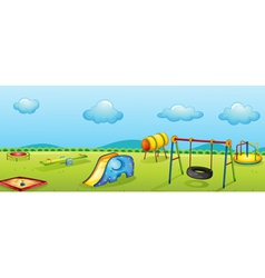 play park vector image vector image